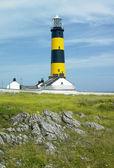 Vuurtoren in noord-ierland — Stockfoto