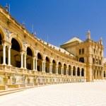 Spanish Square (Plaza de Espana), Seville, Andalusia, Spain — Stock Photo #2737213
