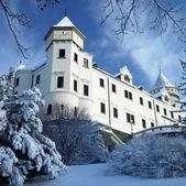 Konopiste Chateau in winter, Czech Republic — Stock Photo