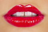 Red lipstick — Stock Photo