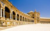 площадь испании (plaza de espana), севилья, андалусия, испания — Стоковое фото
