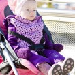 Toddler in pram — Stock Photo #2743062