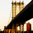 Royalty-Free Stock Photo: Manhattan Bridge