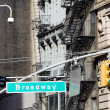 Broadway, Manhattan, New York City, USA — Stock Photo #2802797