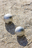 Balls of petanque — Stock Photo