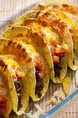 Baked tacos — Stock Photo