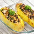 Baked potatoes - Stock Photo