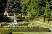 Garden of La Granja de San Ildefonsos — Stock Photo