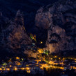 Moustiers Sainte Marie — Stock Photo