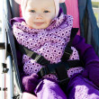 Stock Photo: Toddler in pram