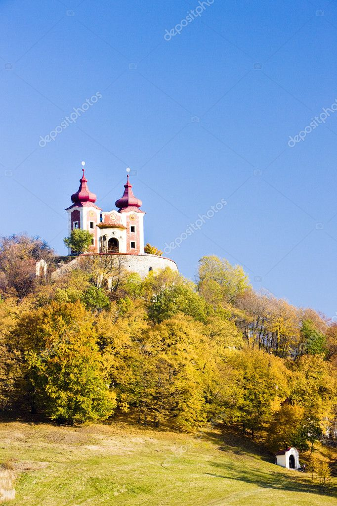 Pilgrimage church at Calvary, Banska Stiavnica, Slovakia — Stock Photo #2967993