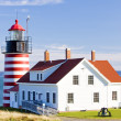 Lighthouse in USA - Stock Photo