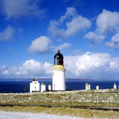 Lighthouse in Scotland — Stock Photo