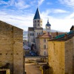 ������, ������: Abbey of Cluny Burgundy France