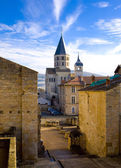 Abadía de cluny, borgoña, francia — Foto de Stock