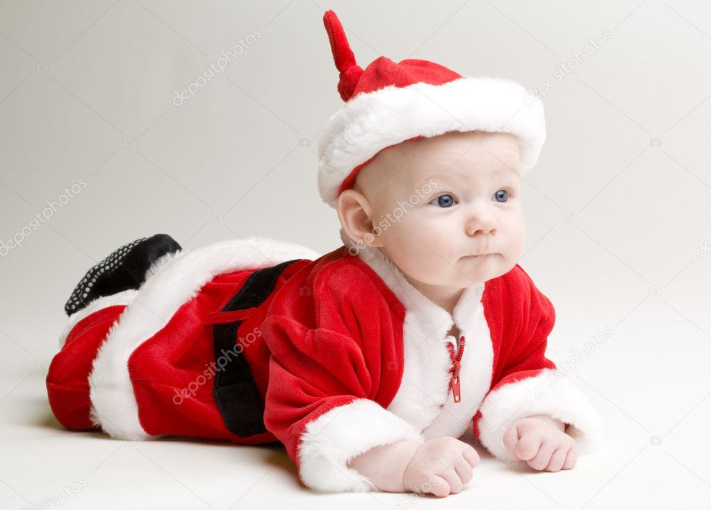 Little Santa Claus — Stock Photo #3039206