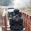 Steam locomotive — Stock Photo