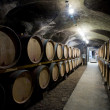 Wine cellar in Burgundy — Stock Photo #3063058