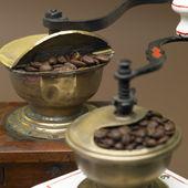 咖啡米尔斯 — 图库照片