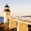 Stock Photo: Lighthouse in Maine