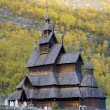 Borgund Stavkirke — Stock Photo
