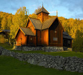 Uvdal Stavkirke — Stock Photo
