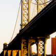 Stock Photo: Manhattan Bridge