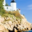 Lighthouse in Maine — Stock Photo