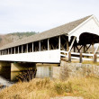 Stark Covered Bridge - Stock Photo