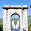 Stock Photo: Bridge over Rhone rive
