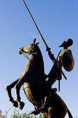 Statue of Don Quijote — Stock Photo
