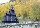 Borgund stavkirke — ストック写真