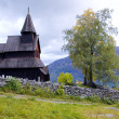 Urnes Stavkirke - Stock Photo
