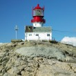 Lighthouse in Norway — Stock Photo