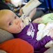 Toddle on plane — Stock Photo #3373121