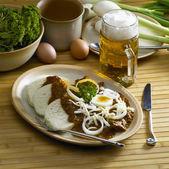Beef goulash — Stock Photo