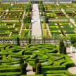 Royalty-Free Stock Photo: Villandry Castle\'s garden