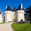 Stock Photo: Chaumont-sur-Loire Castle