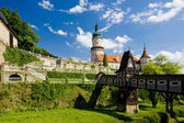 Castle of Nove Mesto nad Metuj — Stock Photo