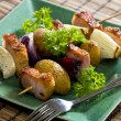 Stock Photo: Rural skewers