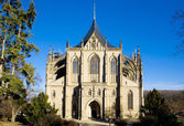 Cathedral of St. Barbara in Kutna Hora — Stock Photo