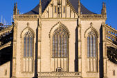 Cathedral of St. Barbara in Kutna Hora — Stockfoto