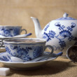 Tea set — Stock Photo #3476887