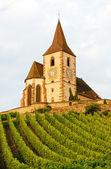Hunawihr, эльзас, франция — Стоковое фото