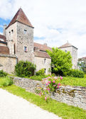 Gevrey-Chambertin Castle — Stock Photo