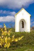 Hnanice 近くの礼拝堂 — ストック写真