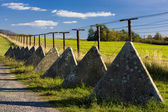 Remains of iron curtain — Stock Photo