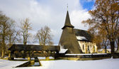 Kyrkan i koci — Stockfoto