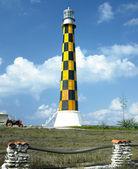 маяк, суженной кайо — Стоковое фото
