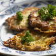 Potato cakes — Stock Photo